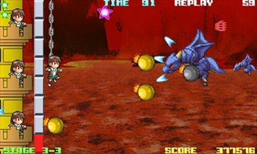 KEIDRA!(慧ちゃんとドラゴンとロケットパンチ) Game Screen Shot4