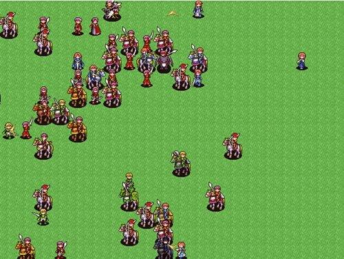 シベルシュア大陸の争乱 Game Screen Shot1