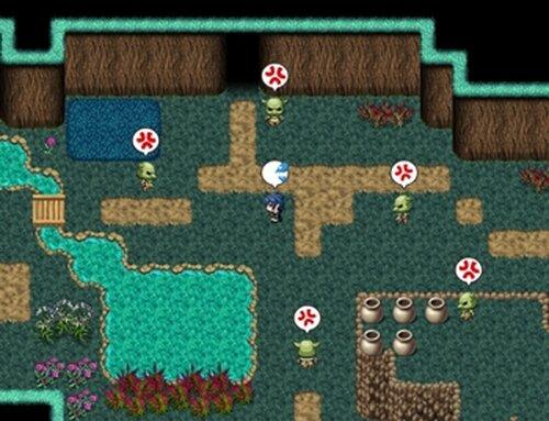 勇者達の事件簿File1「旅立ちの日の殺人」 Game Screen Shot2