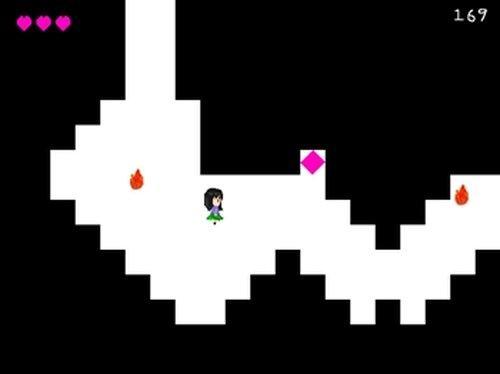 火から逃げるゲーム Game Screen Shot2