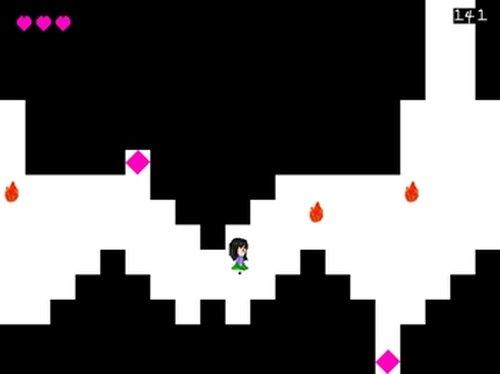 火から逃げるゲーム Game Screen Shot4