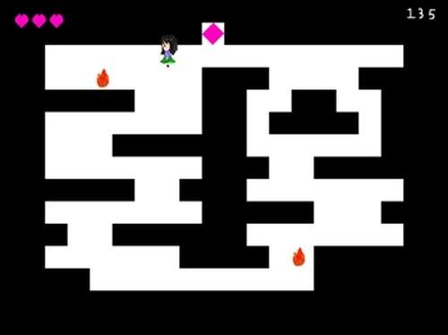 火から逃げるゲーム Game Screen Shot5