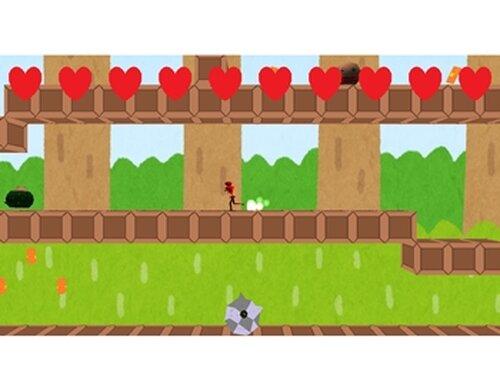 走って!跳んで!大脱出!! Game Screen Shots