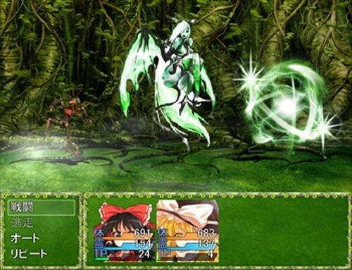 東方ダンジョン記 Game Screen Shots