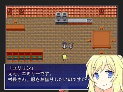 怪盗ユリリンサンタの袋を取り返せ! Game Screen Shots