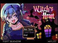 Witch's Heartのゲーム画面