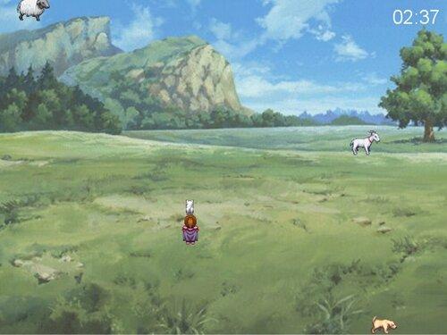 ぽに子の語呂合わせバトル Game Screen Shot1