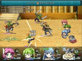 Princess Quartet Game Screen Shot2