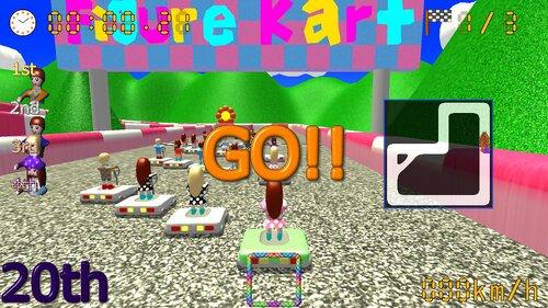 フィギュアカートDX Game Screen Shot1