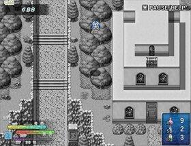 イリゼグレイ -白黒姫と七色の宝石- Game Screen Shot2