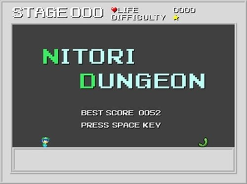 Nitori Dungeon 【にとだん】 Game Screen Shot2