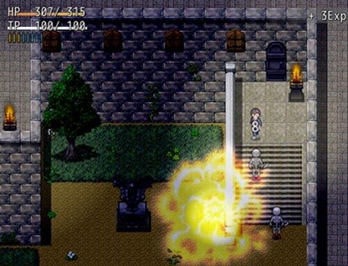 さまよえる不死者たちの城 Game Screen Shot3
