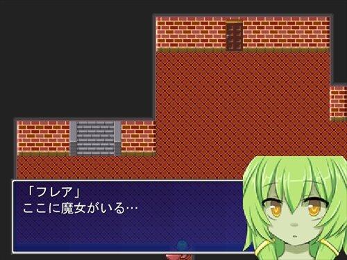 見習い魔女フレアと声を奪われた神 Game Screen Shot1