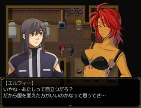 精霊の守護者~The Holy Ghost knight~【prologue】 Game Screen Shot3