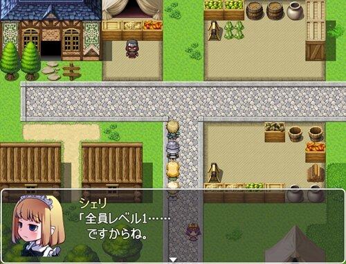 僕もダンジョンに潜りたいβ Game Screen Shot1