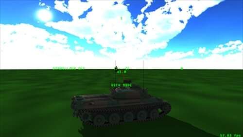 Tank Flanker Game Screen Shot3