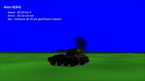 Tank Flanker Game Screen Shot4