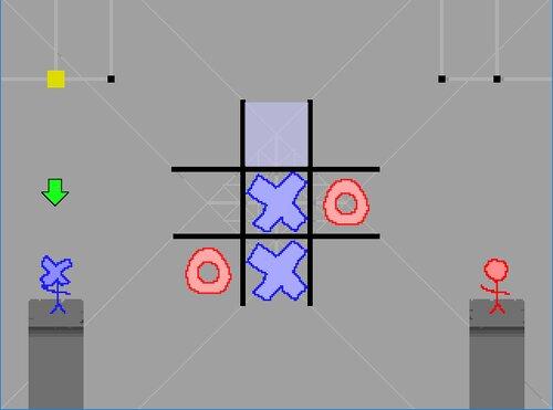 〇×のゲーム Game Screen Shot1