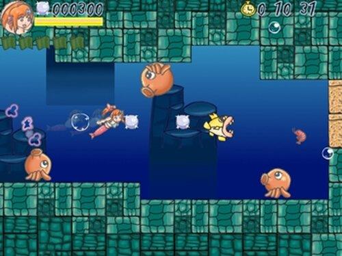 ピスカのスムーズスイミング Game Screen Shot2