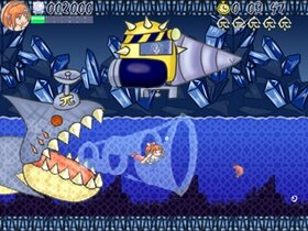 ピスカのスムーズスイミング Game Screen Shot5