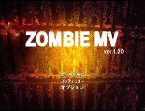 ZOMBIE MV Game Screen Shot