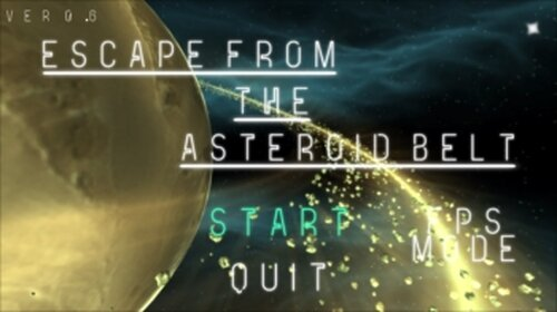 Escape From The Asteroid Belt Game Screen Shot2