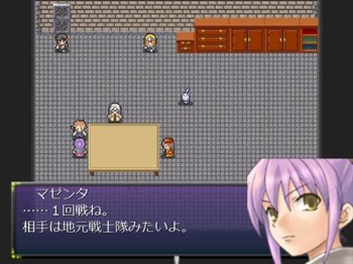 ある4人の戦技大会 Game Screen Shot4