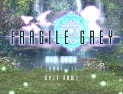 FRAGILE GREY -完全版- ver1.05 Game Screen Shots