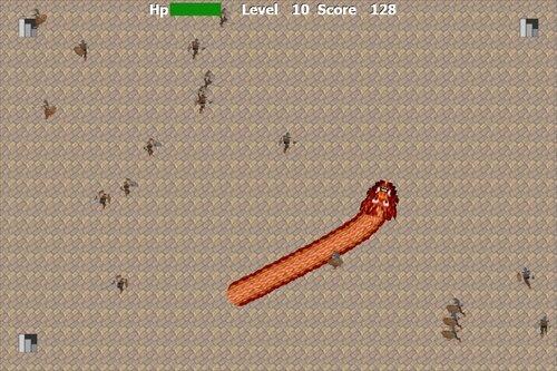 ドラゴンアタック Game Screen Shot