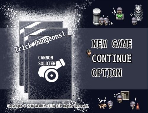 <ver.1.75>CANNON SOLDIER -Trick Dungeons- Game Screen Shot1