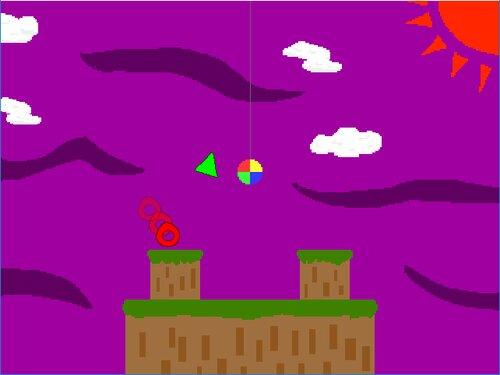 オシダシのゲーム Game Screen Shot