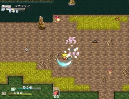 アヤコちゃんの唐揚げ狩り Game Screen Shot5