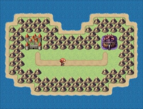 ハロルドの冒険第2話 激闘!千文字魔王 Game Screen Shot3