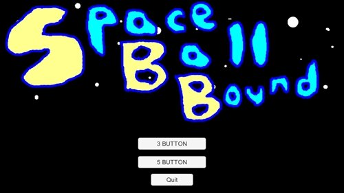 Space Ball Bound Game Screen Shot