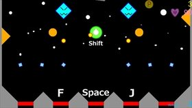 Space Ball Bound Game Screen Shot3