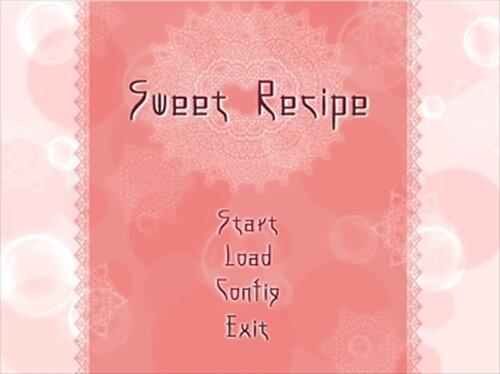Sweet recipe Game Screen Shots