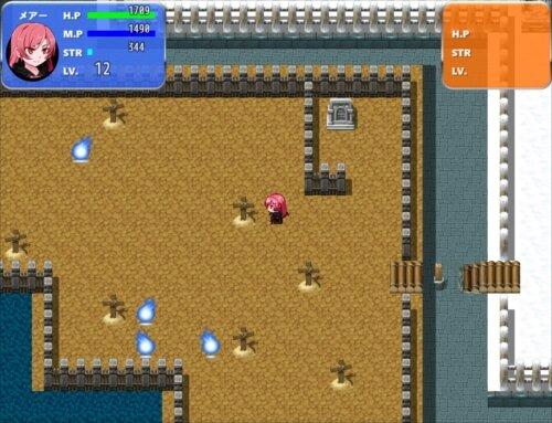 Vampireメアの散歩 Game Screen Shot1