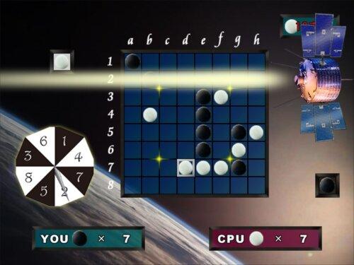 Laser reversi(レーザーリバーシ) Game Screen Shot