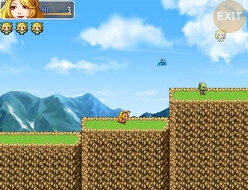 バニー ジャンプアクション! Game Screen Shot2