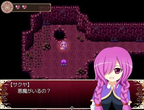 薔薇と悪魔騎士 Game Screen Shot1