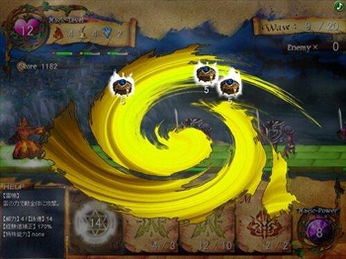 ウォーロック・カード Game Screen Shot2