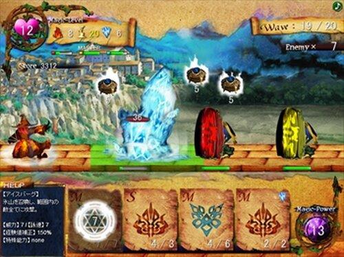 ウォーロック・カード Game Screen Shots