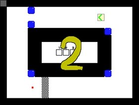 レースのゲーム Game Screen Shot2