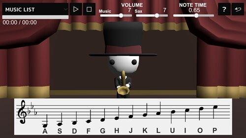 SAX PLAYER Game Screen Shot1