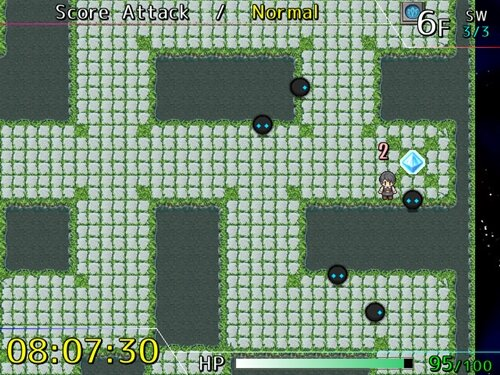 10mL   - 10 minutes Labyrinth - Game Screen Shot