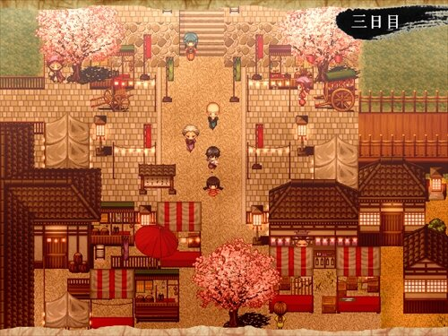 スピリッツブロッサム Game Screen Shot1