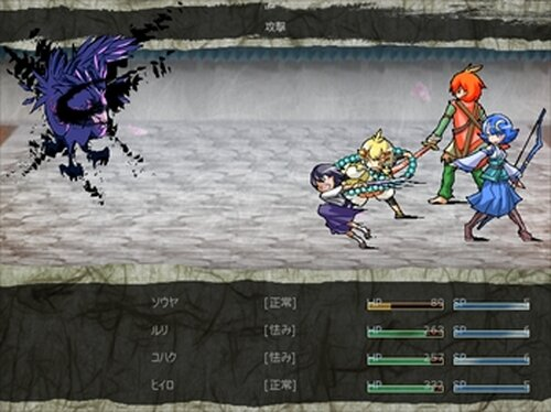 スピリッツブロッサム Game Screen Shot2