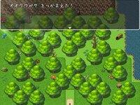 ミンミンゼミとなつやすみのゲーム画面