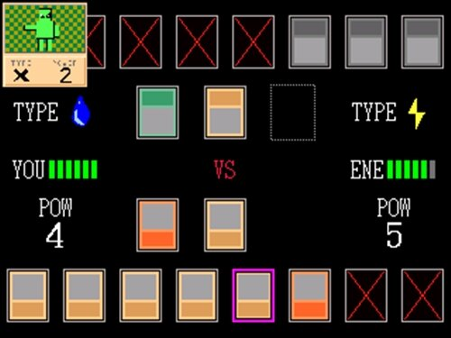 EasyCardBattle5 Game Screen Shot