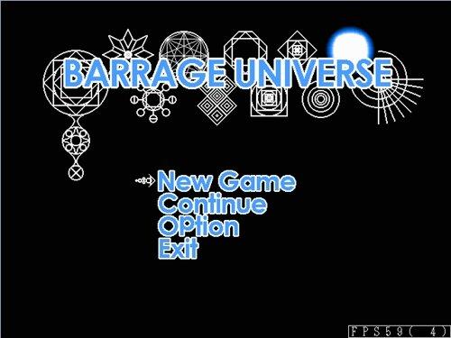 BARRAGE UNIVERSE Game Screen Shot1